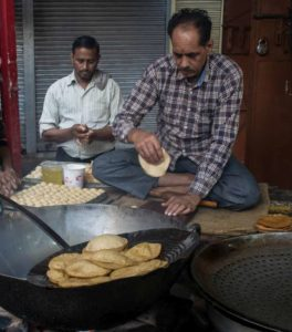 Delhi food walk with chef